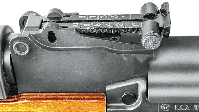 Inter Ordnance AKM 247-C rear sight