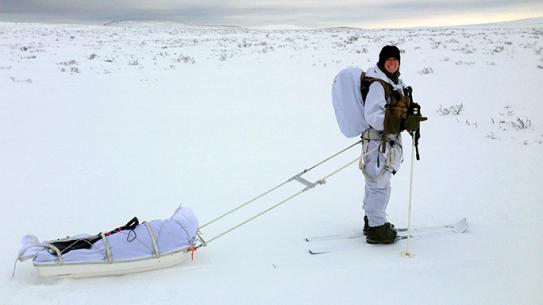 Kate Alfin Allied Winter Course Norwegian School of Winter Warfare