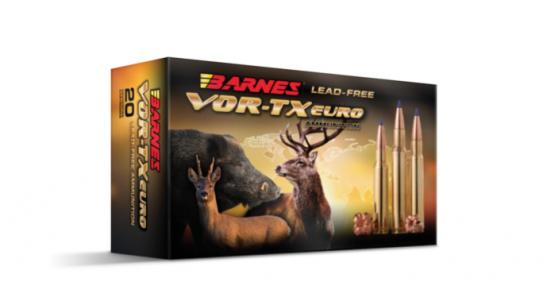 Barnes Bullets VOR-TX EURO hunting ammo