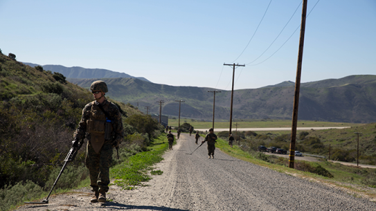 Marines Counter-IED Training Course Camp Pendleton