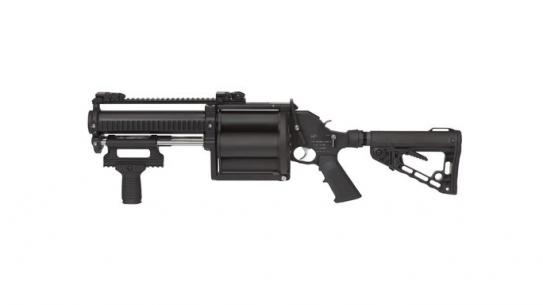 Defense Technology Tactical 40mm 4-Shot Launcher lead