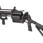 Defense Technology Tactical 40mm 4-Shot Launcher open