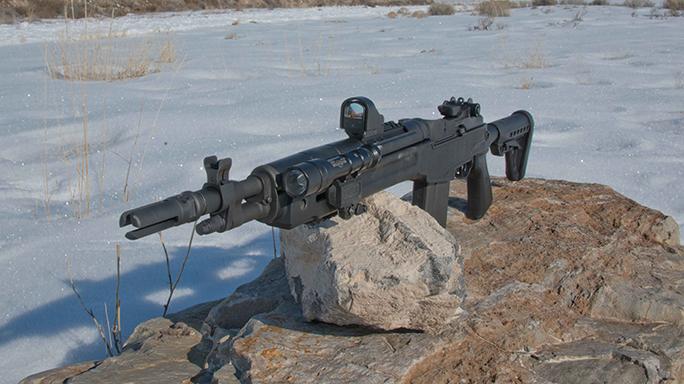 Springfield Armory M1A SOCOM 16 CQB exclusive field
