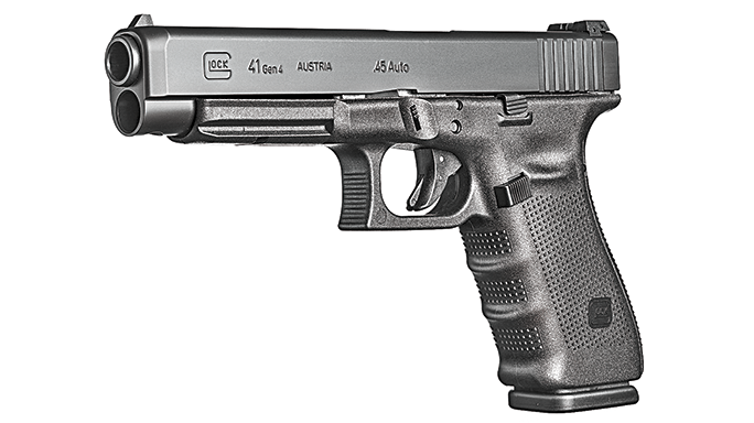Glock Buyer's Guide 2016 Glock 41 Gen4 .45 Auto Champion