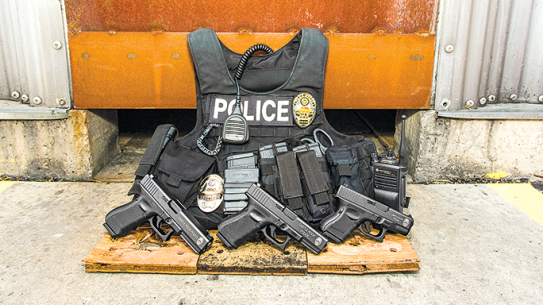 Castle Rock Police Glock vest 9mm
