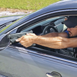 Self-Defense Competitive Shooting car