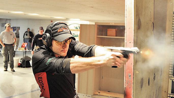 Self-Defense Competitive Shooting range