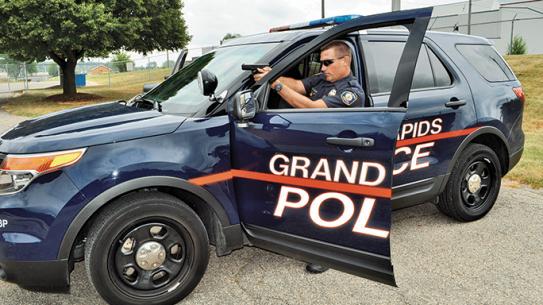 Grand Rapids Police Department Glock 17 lead