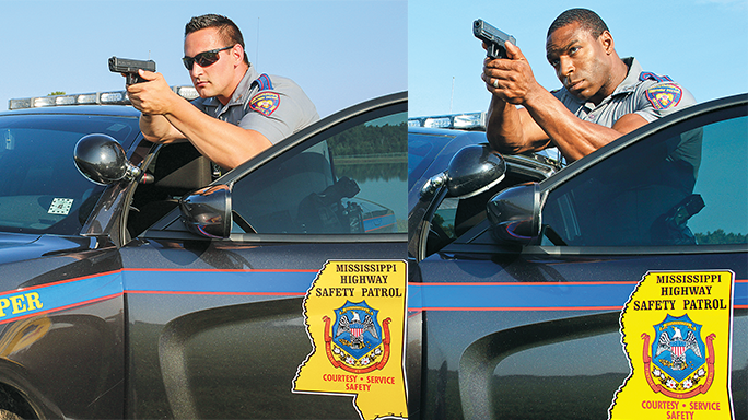 Mississippi Highway Patrol Glock 17 car