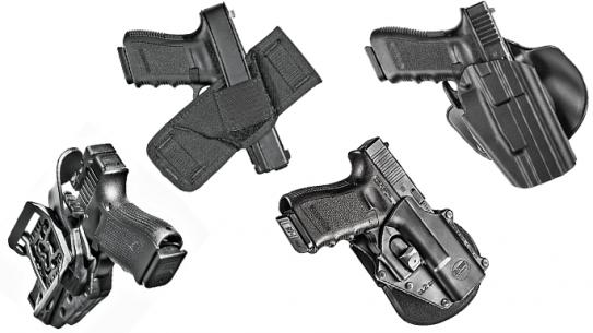4 Holsters Glock MOS Pistols