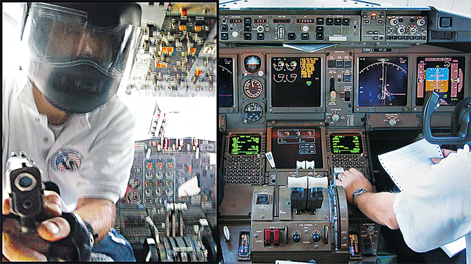 Arming Pilots cockpit Glock 2016