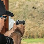 Talladega Police Department Glock aim