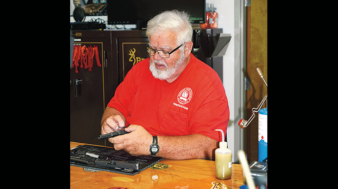 Volusia County Sheriff's Office Glock 35 Steve Harrell