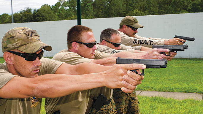 Volusia County Sheriff's Office Glock 35 range