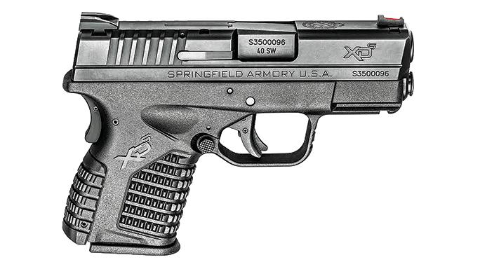 20 Best Guns For Law Enforcement 2016 Springfield XD-S 3.3˝ .4020