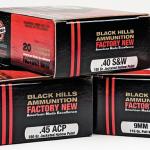 New Pistol Rounds 2016 Black Hills