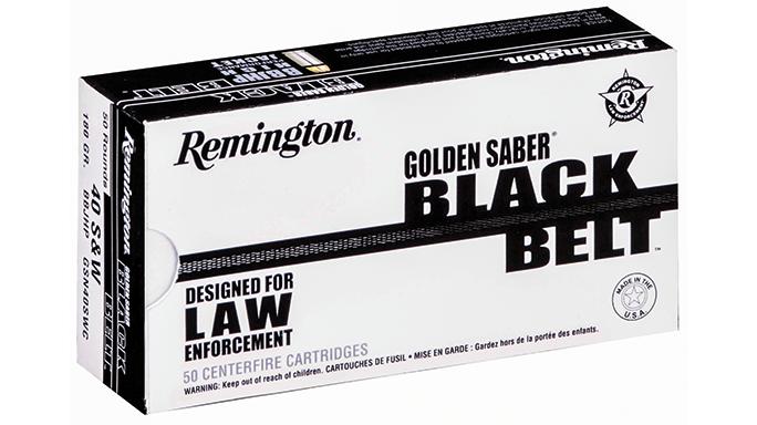 New Pistol Rounds 2016 Remington Golden Saber Black Belt