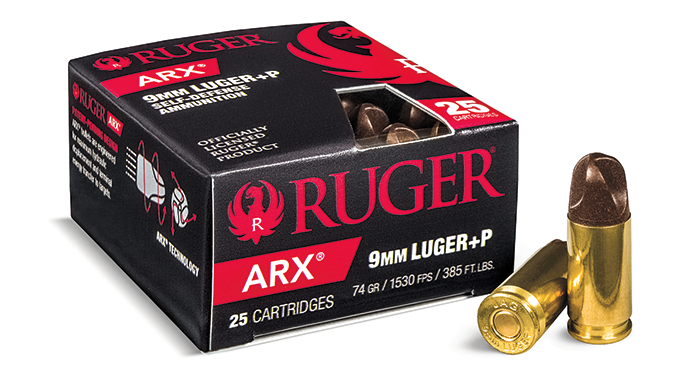 New Pistol Rounds 2016 Ruger ARX