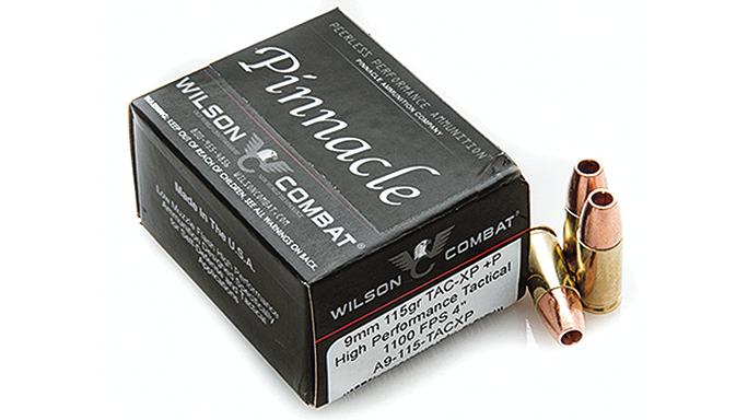 New Pistol Rounds 2016 Wilson Combat Pinnacle