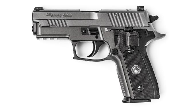 Sig Sauer Legion Series Pistol test left
