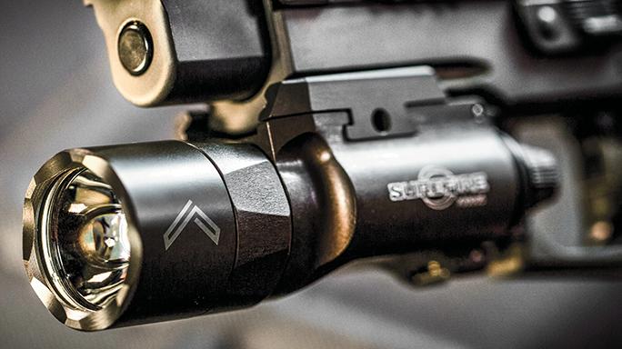 Sig Sauer Legion Series Pistol test flashlight