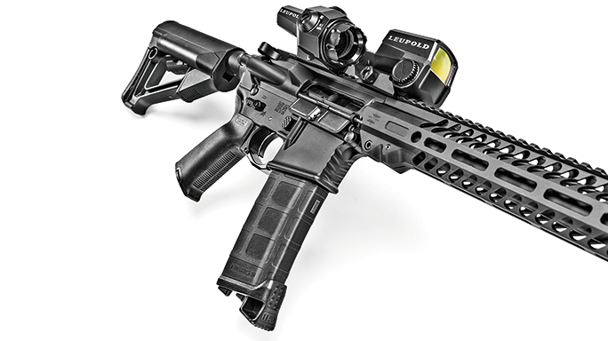Seekins Precision's SP15 Forged NOXs Rifle side