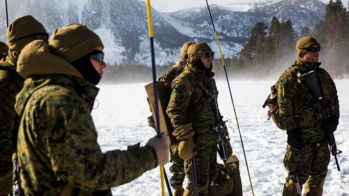 Marines Mountain Exercise 1-16 Cold Response 16