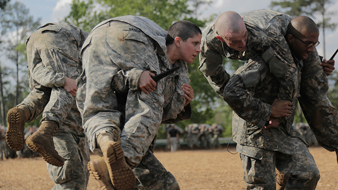 Kristen Griest Military Occupational Specialties Women 2016