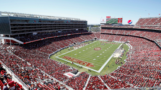 Super Bowl 50 Security Levi's Stadium