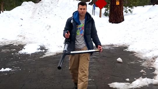 Snowball Machine Gun video