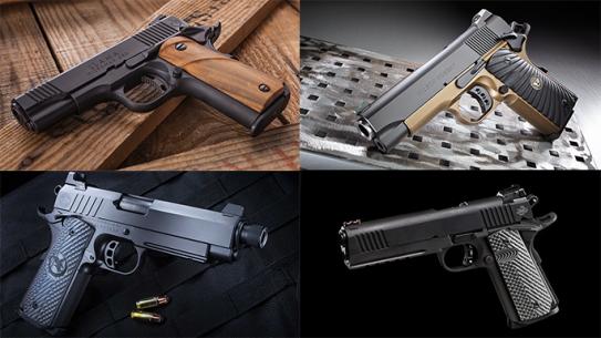 23 New 1911 Pistols For Duty, Self-Defense