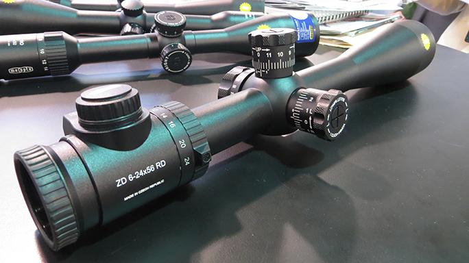 2016 AR Accessories Meopta ZD 6-24x56mm RD