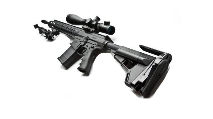 SHOT Show 2016 Battleline Stock Attachment Precision Rifle