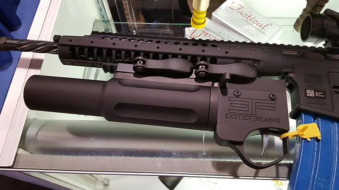 SHOT Show 2016 Exotic Firearms Nemesis SL 37mm Launcher
