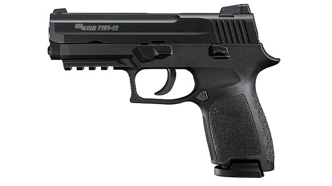 Mid- Full-Sized Handguns 2016 Sig Sauer P250-22