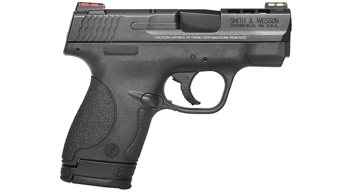 Mid- Full-Sized Handguns 2016 Smith & Wesson M&P Shield Ported