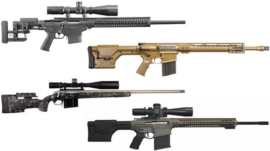 12 Precision Rifles Long-Range Shooting SHOT Show 2016