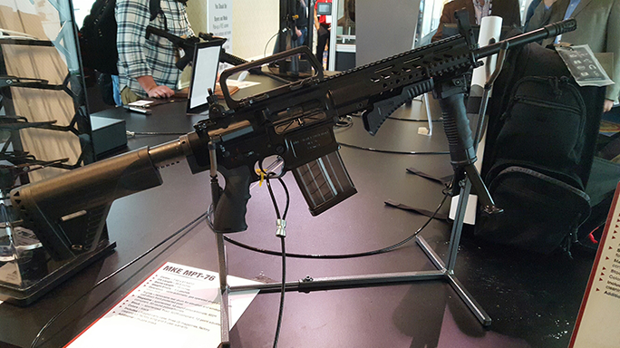 SHOT Show 2016 Zenith MPT-76