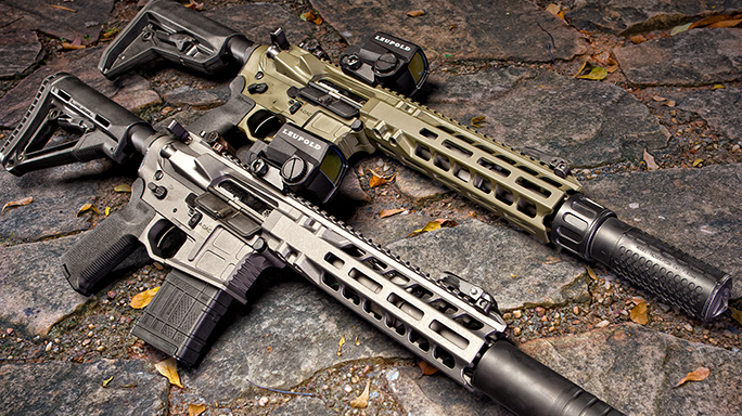 SHOT Show 2016 rifles AXTS Weapons Systems MI-T556