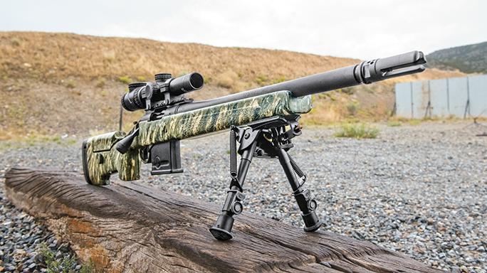 McMillan Adjustable A3-5 stock rifle