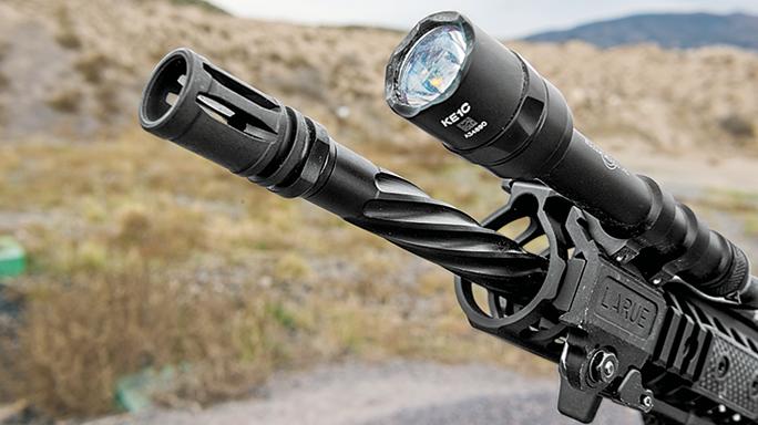 SW 2016 Gun Test LWRCI IC-DI barrel