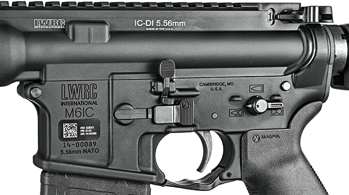 SW 2016 Gun Test LWRCI IC-DI lower