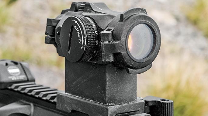 SW 2016 Gun Test LWRCI IC-DI sight