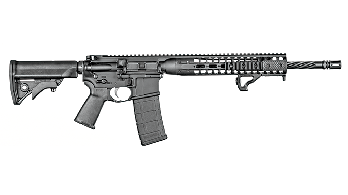 SW 2016 Gun Test LWRCI IC-DI solo