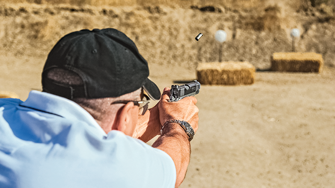Mark Redl Colt Competition Shooting aim