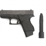 TangoDown Vickers Tactical Glock 43 +2 Magazine Extension pistol