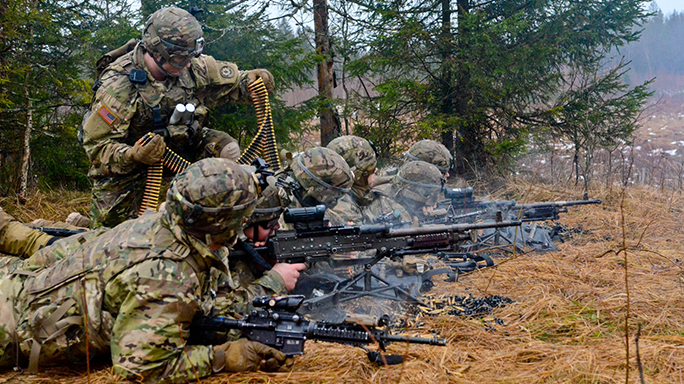3rd Squadron Wolfpack 2nd Cavalry Regiment Tapa Training