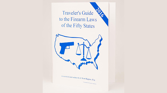 Traveler's Guide to the Firearm Laws of the Fifty States cover
