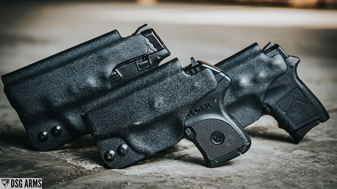 DSG Arms CDC Holster Lineup trio