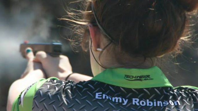 Emily Robinson Competitive Shooting news